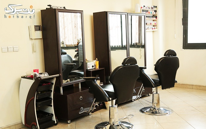 بافت گل و شاخه ای مو  در آرایشگاه درسا