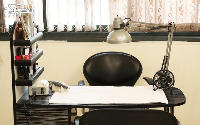 کاشت و ترمیم  ناخن  در آرایشگاه درسا