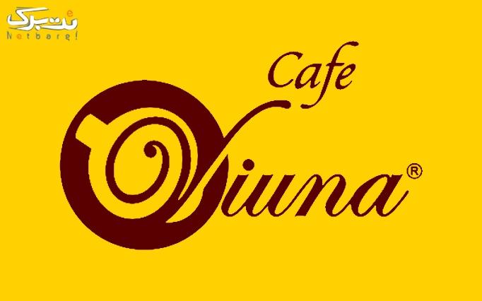کافه ویونا با منوی باز(شعبه ونک)