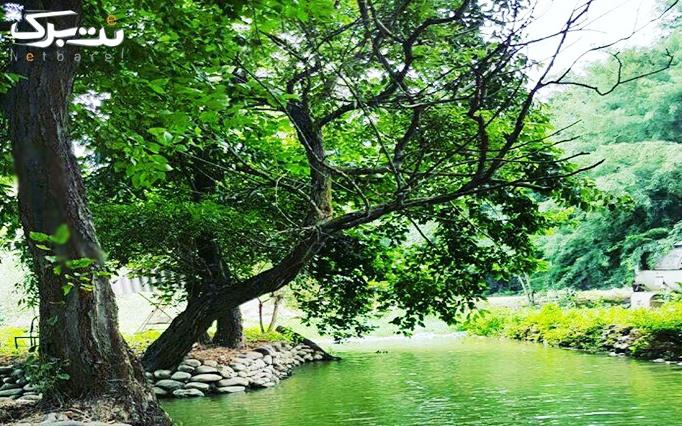 ماهیگیری در مجموعه دریاچه بهشت