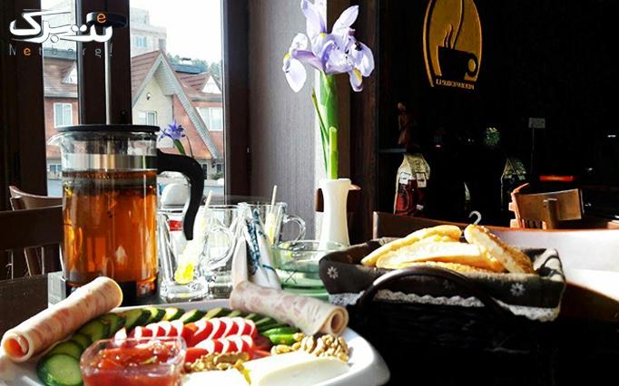 کافه دامون با بوفه آزاد صبحانه، ویژه روزهای جمعه