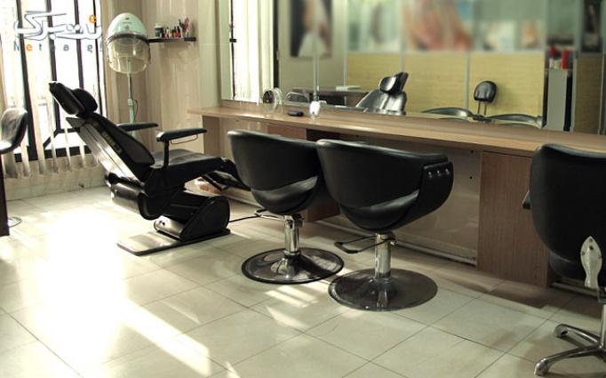 بافت و کوپ مو در سالن زیبایی کتیبا