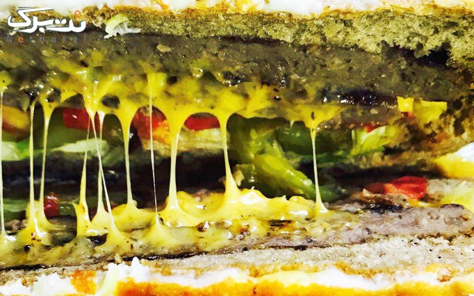 غول خوشمزه با ساندویچ های متفاوت و ویژه