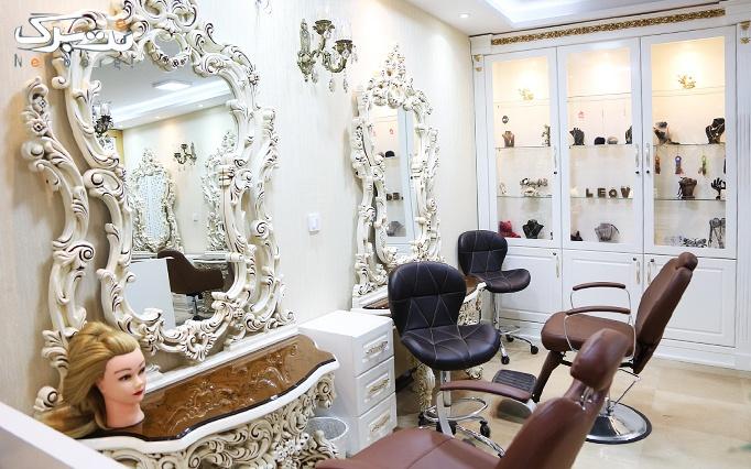 دستمزد اکستنشن مو در آرایشگاه نسیم