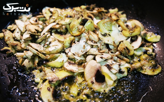 خوراک ذغالی دوفر با منوی باز پاستا و استیک