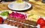غذای ایرانی در مجموعه توریستی تفریحی دهکده ساحلی