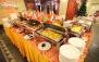 بوفه کامل غذاهای ایرانی و فرنگی در رستوران زیتون