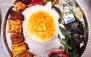 غذاهای لذیذ ایرانی در باغ رستوران چیمن