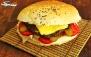 منو ساندویچ در فست فود آقای سیبیل