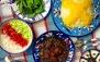 چلو خورشت قرمه سبزی در رستوران لوکس ظفر