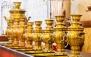 منو غذایی و سرویس چای سنتی عربی در رستوران مفید