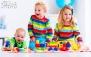 بازی و شادی در خانه کودک رنگین کمان