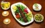 منو غذاهای ایرانی در رستوران آرتیشو