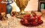 منوی باز غذایی در رستوران سنتی ترنج