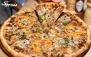 پیتزا خانواده چیکن مخصوص 3 نفره در پیتزا رئیس