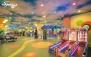 بازی بیلیارد (ایت بال) در شهربازی آناهید