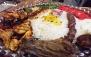 سینی گوشت رستوران پل شاندیز