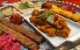 سینی کباب 2 نفره در رستوران مجتمع جهانگردی