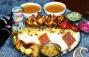 سینی مرغ 2 نفره رستوران سجاد ( ویژه شام )
