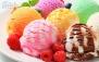 3 اسکوپ بستنی میوه ای در بستنی کوروش