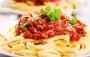 رستوران ایتالیایی پاستا با غذاهای خاص