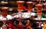 سفره خانه افشار با سرویس دیزی و چای سنتی
