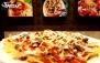پیتزا سوزان با منوی باز